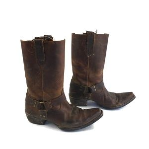 Ariat Sz 9 Hollywood Leather Western Harness Boots